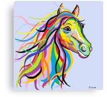 Horse of a Different Color Canvas Print