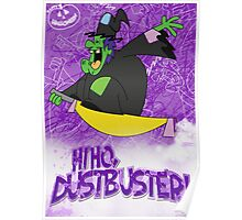 Halloween Poster 2009 - Hi Ho Dustbuster Poster