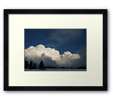 30 Framed Print