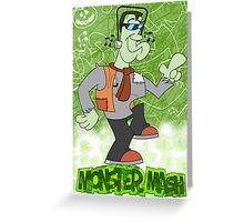 Halloween Poster 2009 - Monster Mash Greeting Card