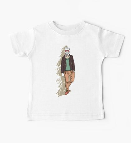 man in fashion clothes Baby Tee