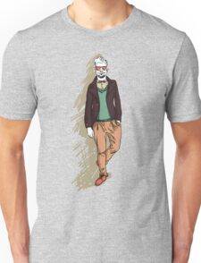 man in fashion clothes Unisex T-Shirt