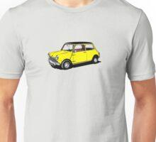 Yellow Mini Cooper Unisex T-Shirt