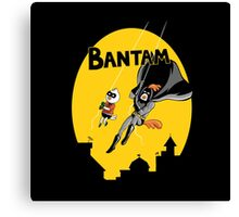 The Adventures of Bantam and Little Pecker Canvas Print