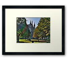 Autumn Morning - Winchester Framed Print