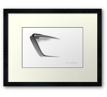 Fading Vision © Framed Print