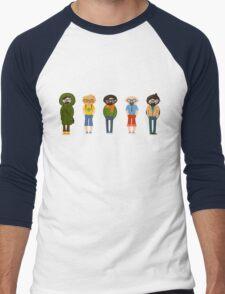 guys fashion set Men's Baseball ¾ T-Shirt