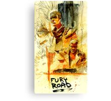 Fury Road Canvas Print