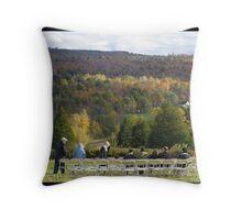 Autumn Wedding Throw Pillow