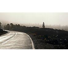 El Teide: The Road Photographic Print