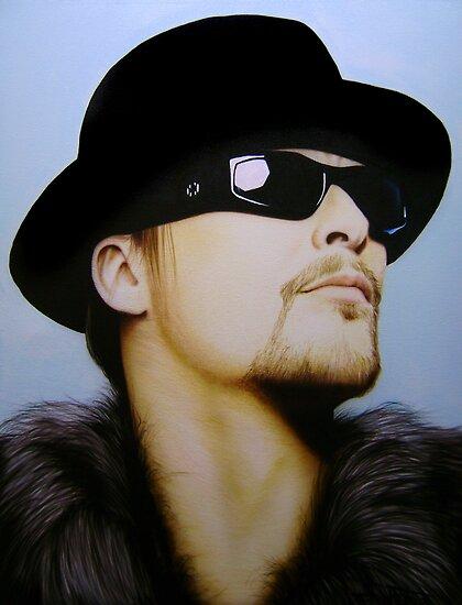 Kid Rock Portrait by SolteroArt