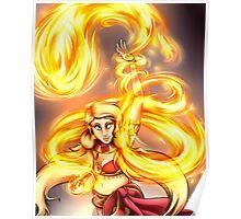Fire Dancer Poster