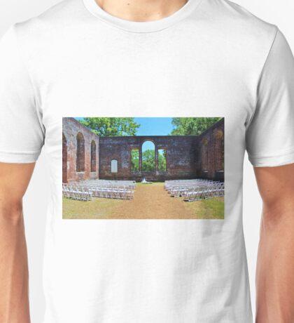 Outside Wedding Unisex T-Shirt