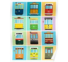 Streetcars of San Francisco Poster