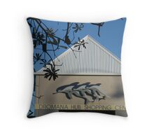 A Touch of Dolpins Throw Pillow