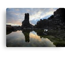 Sunrise TV Canvas Print