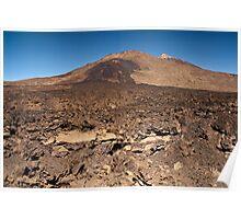 El Teide: Standing Mid Flow Poster