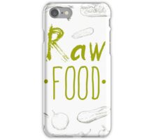 hand-painted vegetables iPhone Case/Skin