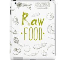 hand-painted vegetables iPad Case/Skin
