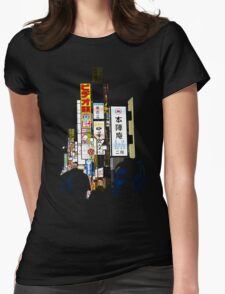 Tokyo Sounds Womens Fitted T-Shirt
