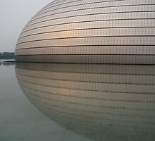 Beijing Grand National Theatre by snefne