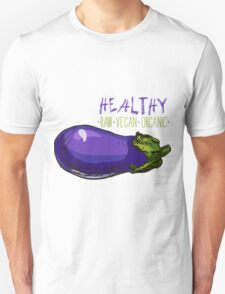 hand drawn vintage illustration of eggplant Unisex T-Shirt