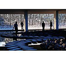 Watergarden silhouette Photographic Print