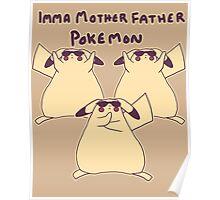 Gentleman Pikachu Parody Poster