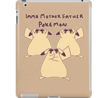 Gentleman Pikachu Parody iPad Case/Skin