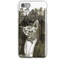 Mr. Sphinx with Frame iPhone Case/Skin
