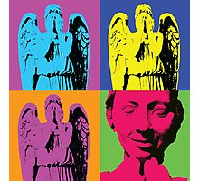 """Don't blink."" -Andy Warhol Photographic Print"