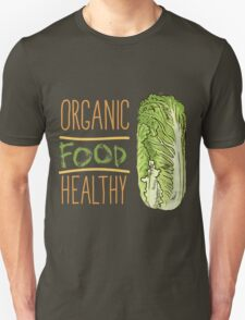 hand drawn vintage illustration of cabbage T-Shirt