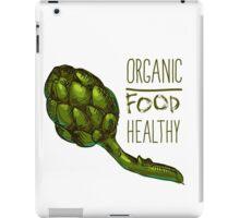 green fresh useful eco-friendly artichoke iPad Case/Skin