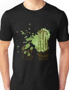 hand drawn vintage illustration of asparagus Unisex T-Shirt