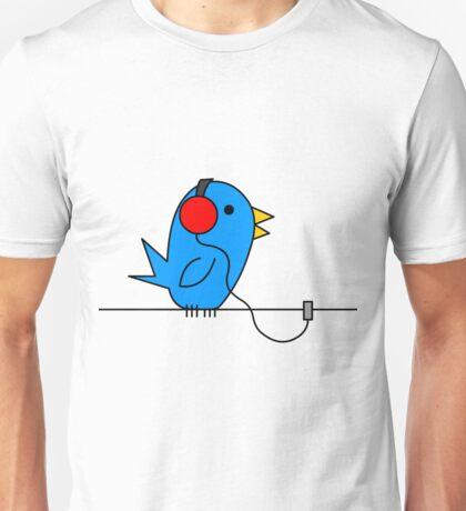 Bird on a Wire Unisex T-Shirt