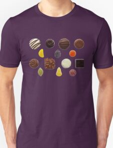 Sweets Mixed Chocolate and Fruit Pastilles Unisex T-Shirt