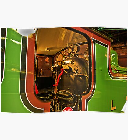 Inside The Cab #2 (Steam Train) Poster