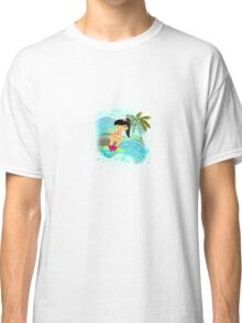 TropoGirl - In the Blue Wave Classic T-Shirt