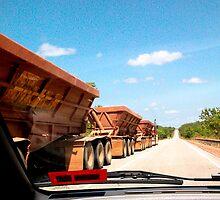 Road Train.......... by Lynette Higgs