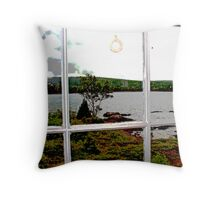..a view from a lighthouse.. Throw Pillow