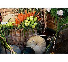 Veggies & All Photographic Print