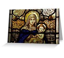 Mary's Window Greeting Card