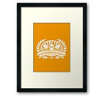 Splattershot Infantry Framed Print