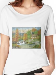 Swiss cottages Women's Relaxed Fit T-Shirt