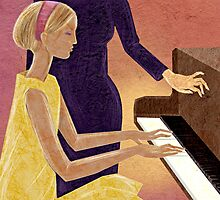 The Piano Lesson by Nicole Florian