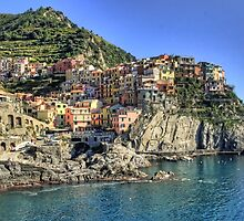 Cinque Terre, Italy by Murray Swift