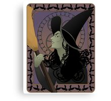 The Wicked Witch Canvas Print