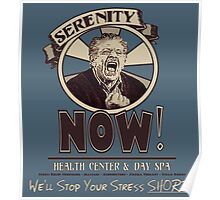 Serenity NOW Health Center & Day Spa Poster