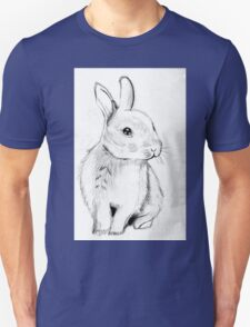 Bluebell the Fluffy White Bunny T-Shirt
