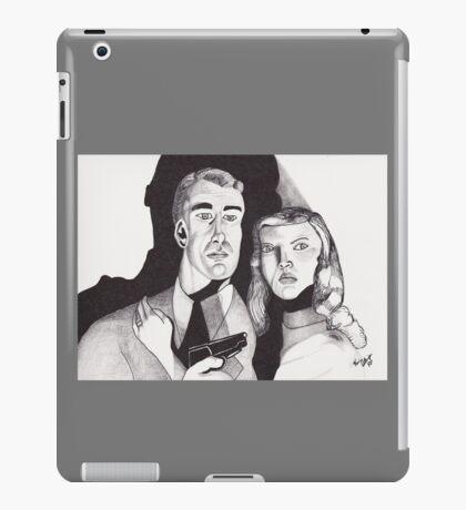 Film Noir with a Gun iPad Case/Skin